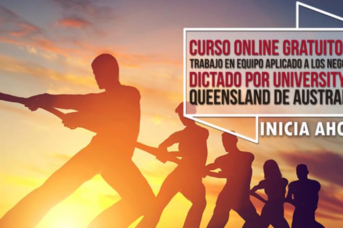 """Curso Online Gratis """"Trabajo en Equipo"""" University of Queensland Australia"""