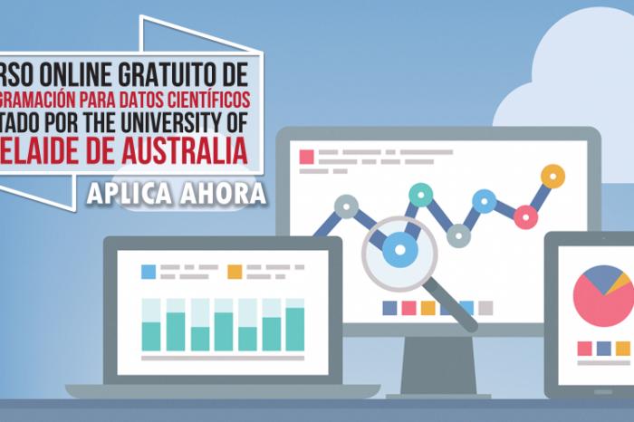 """Curso Online Gratis """"Programación para Datos Científicos"""" The University of Adelaide Australia"""