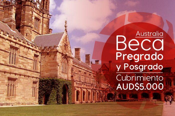 Australia: Becas Para Pregrado y Posgrado en Diversos Temas Australian National University
