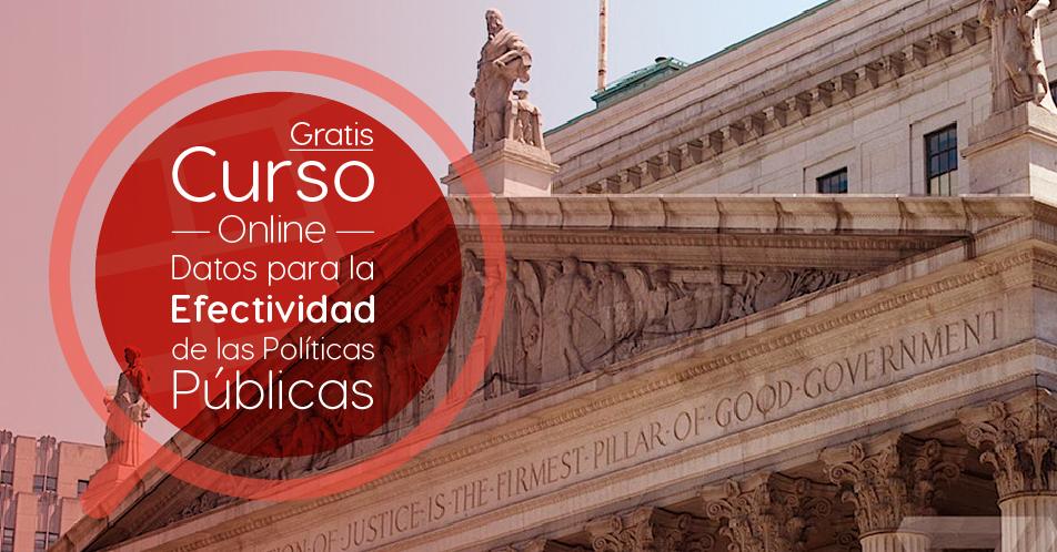 """Curso Gratis Online """"Datos para la efectividad de las políticas públicas"""" Banco Interamericano de Desarrollo Internacional"""