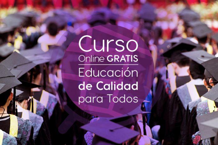 """Curso Gratis Online """"Educación de calidad para todos. Equidad, inclusión y atención a la diversidad"""" Universidad Autónoma de Madrid España"""