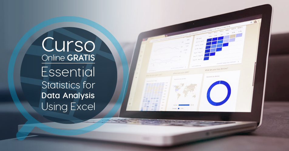 "Curso Gratis Online ""Essential Statistics for Data Analysis using Excel"" Microsoft Estados Unidos"