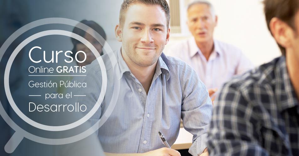 """Curso Gratis Online """"Gestión Pública para el Desarrollo"""" Banco Interamericano de Desarrollo Internacional"""